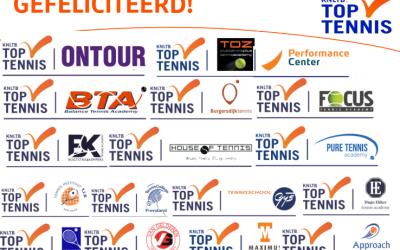TOZ en Vitasports zetten samenwerking met de KNLTB gezamenlijk door!